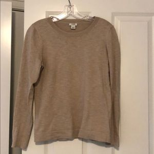 Oatmeal jcrew sweater